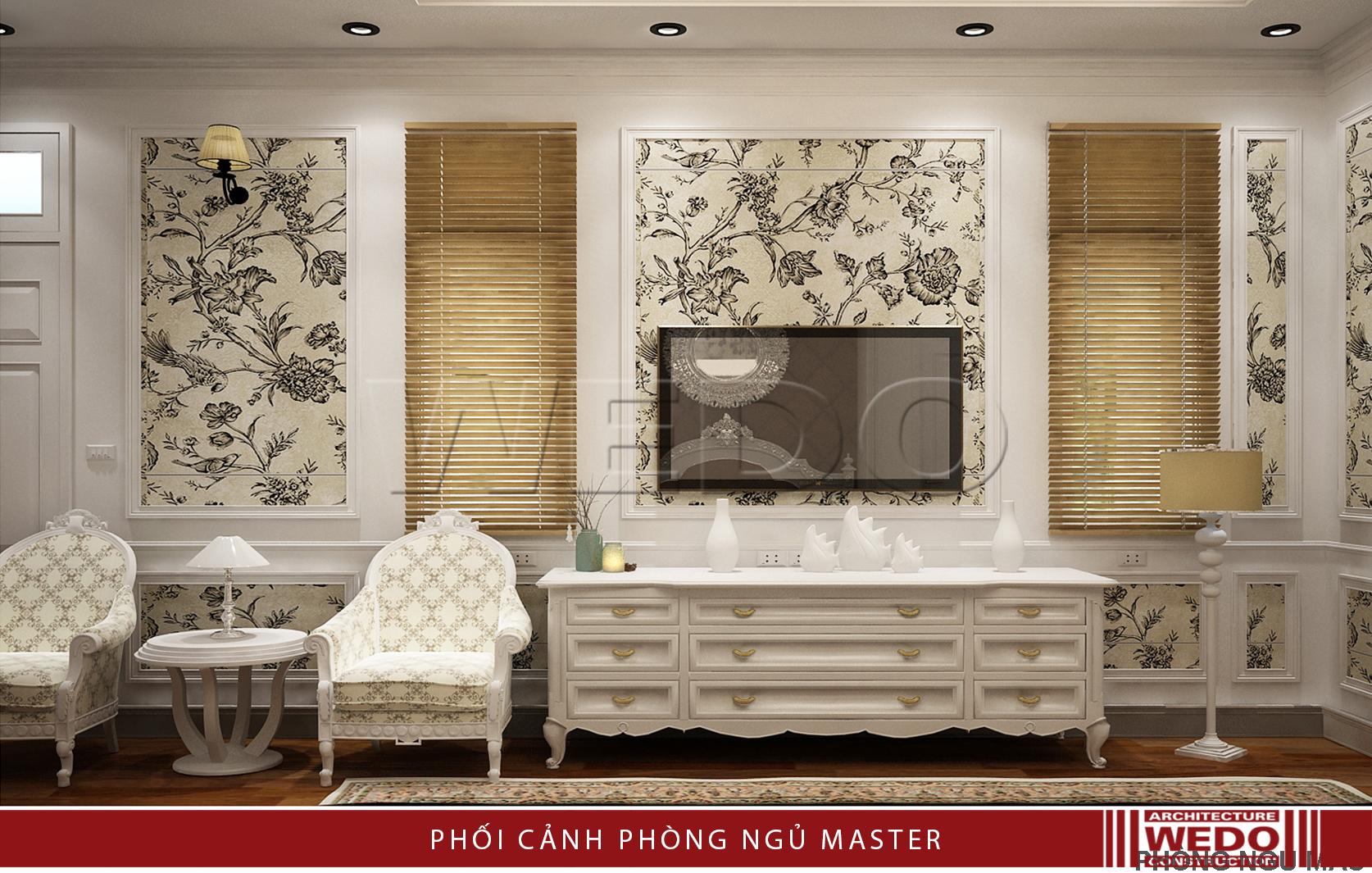 Thiết kế, thi công Nội thất biệt thự Linh đàm