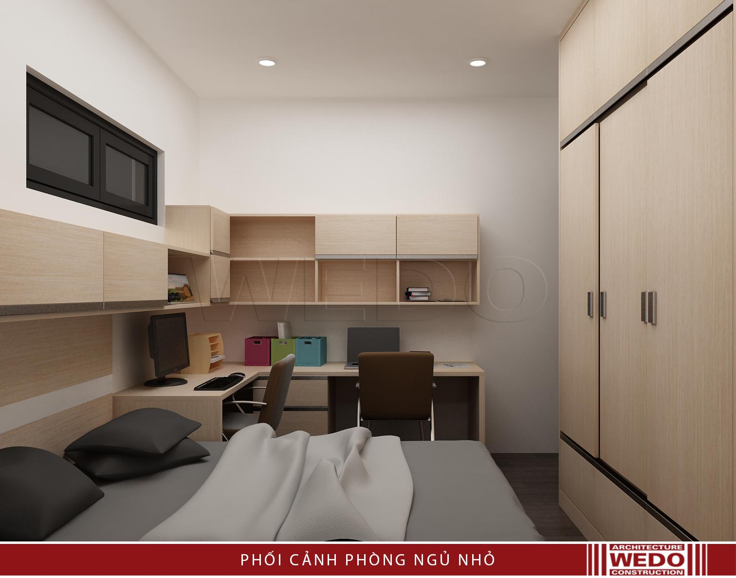 Nội thất phòng ngủ trẻ em chung cư