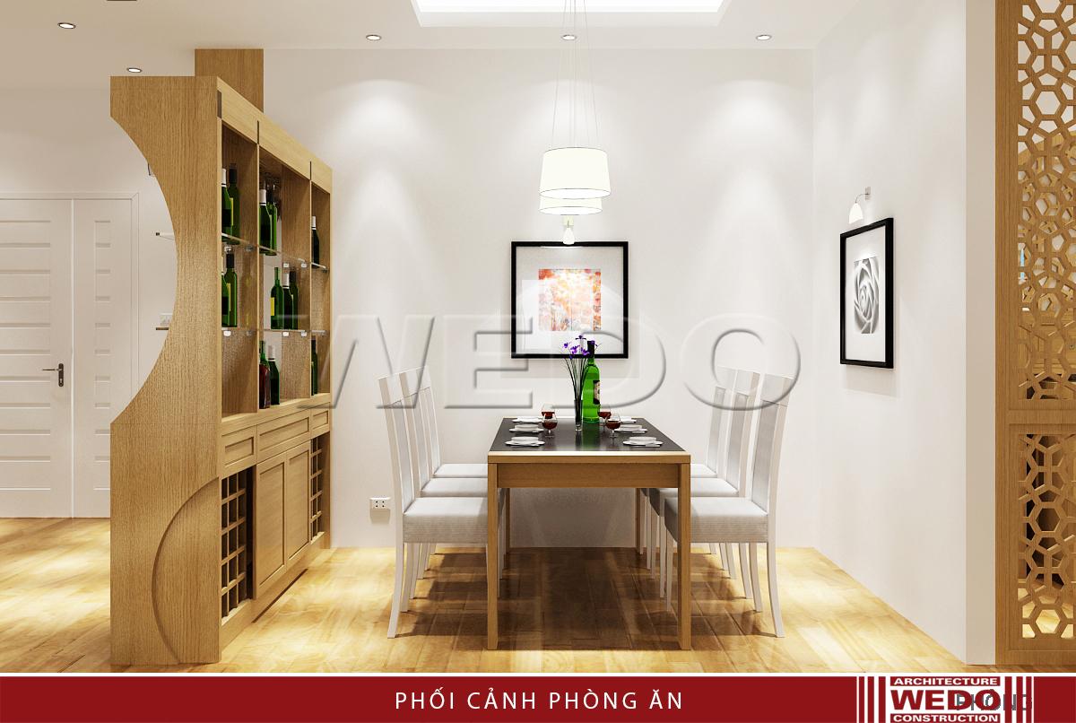 Thiết kế nội thất phòng ăn - Chung cư