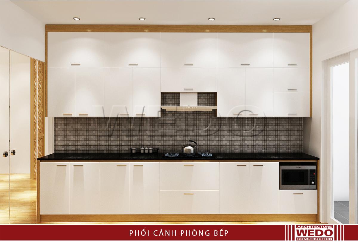 Thiết kế nội thất phòng bếp - Chung cư