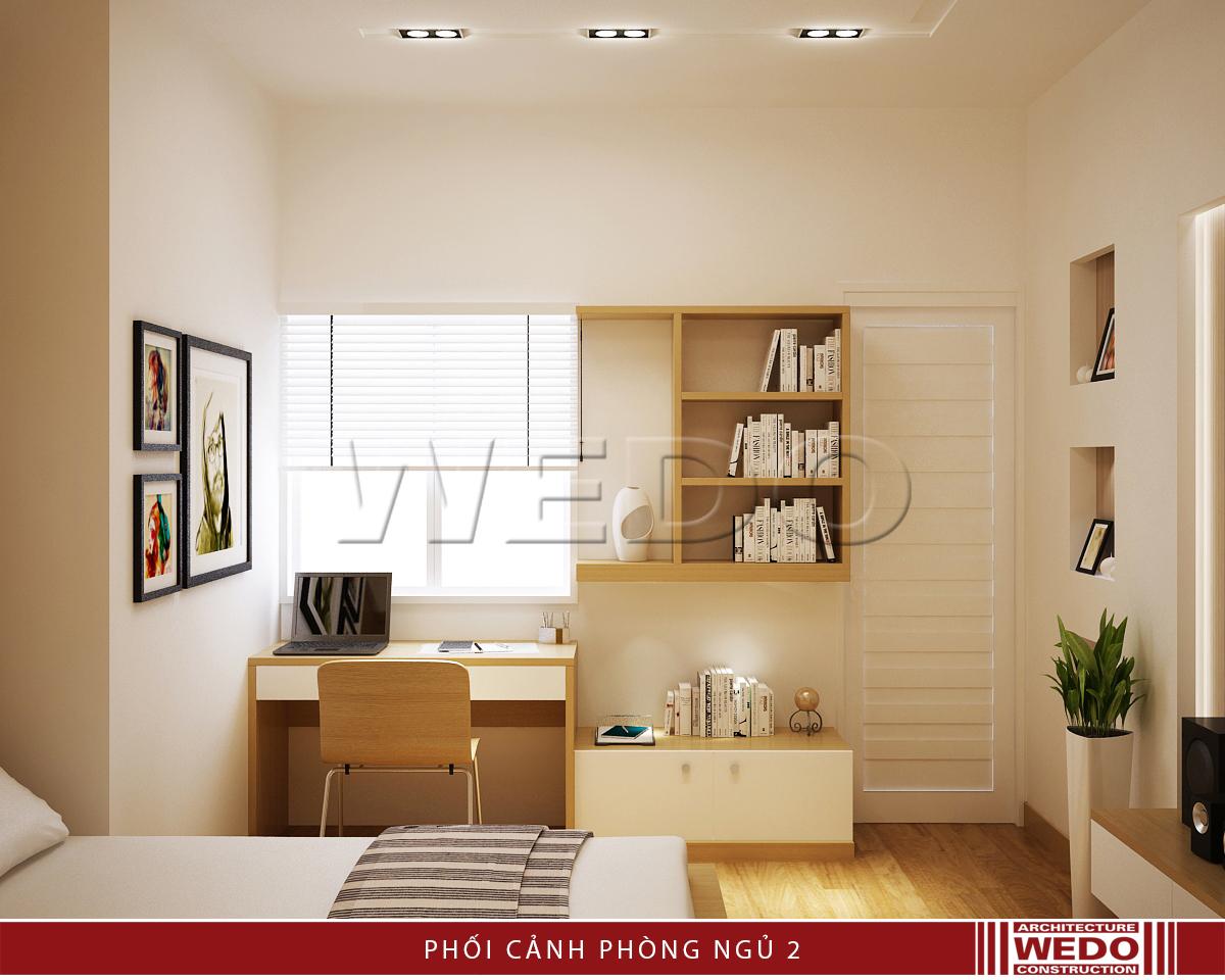 Thiết kế nội thất phòng ngủ - Chung cư