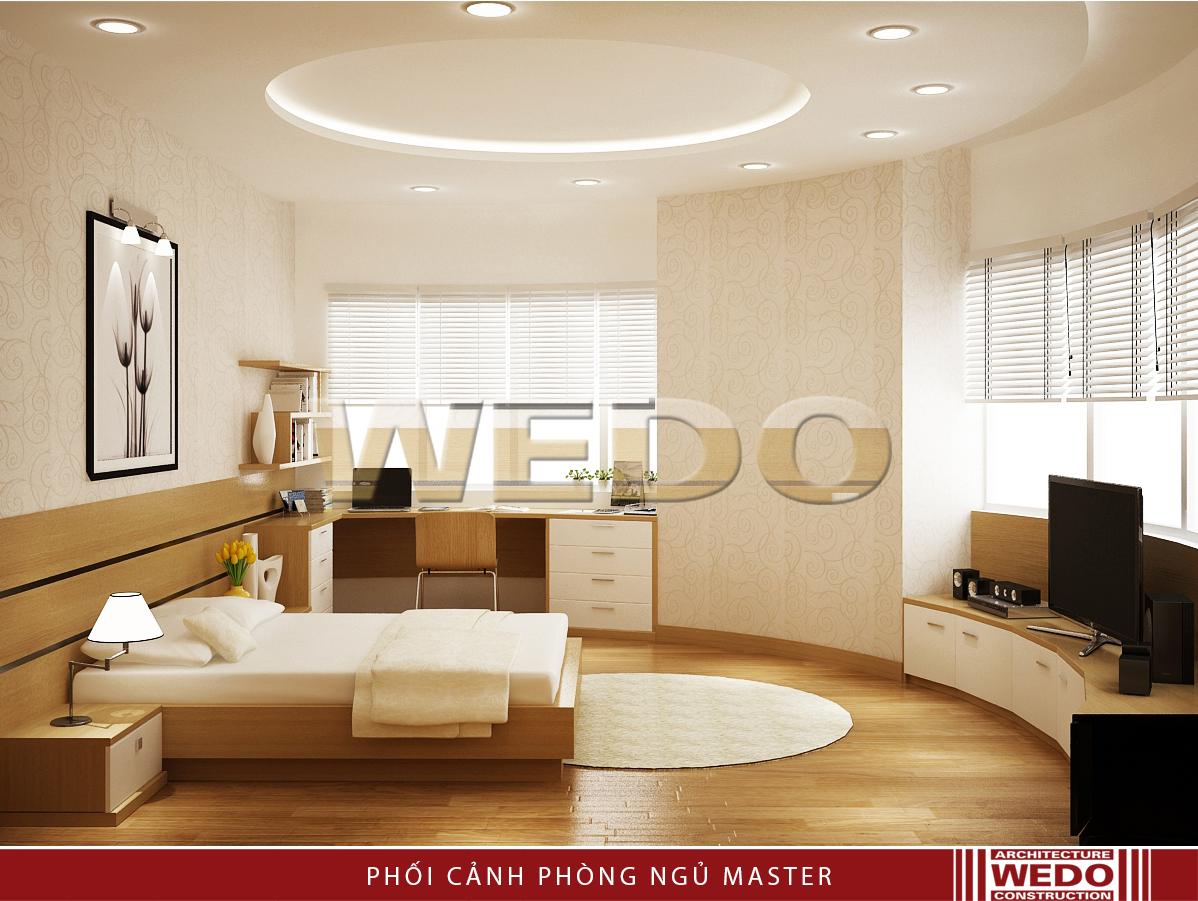 Thiết kế nội thất phòng ngủ - Chung cư MD Complex Tower