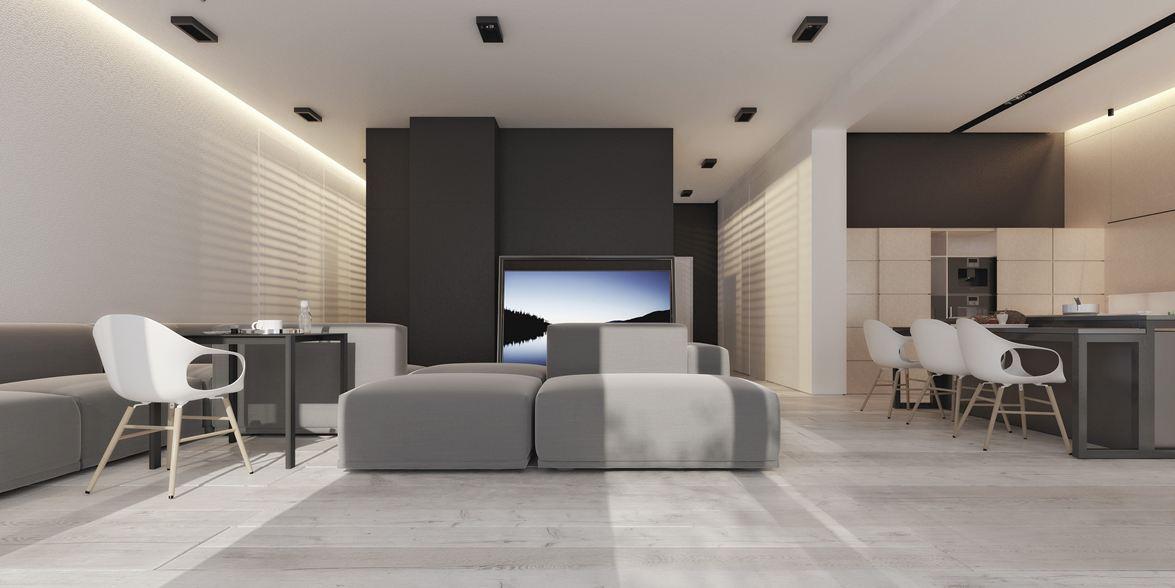Xu hướng thiết kế nhà hiện đại với nội thất tối giản đẹp & sang trọng
