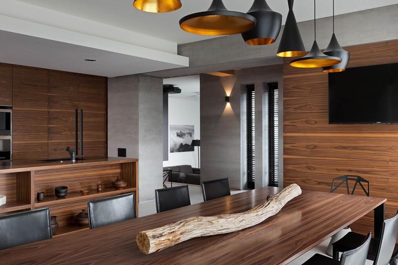 Nhà đẹp & ấm áp với nội thất gỗ tự nhiên