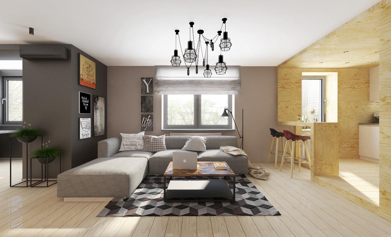 """""""1 tá"""" xu hướng thiết kế thi công nội thất nhà hiện đại đẹp"""