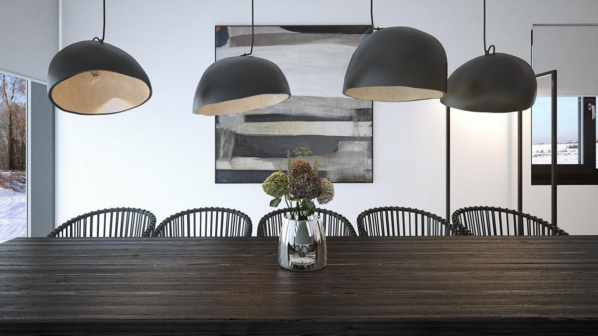 Thiết kế nội thất ấm áp, thư giãn, thoải mái cho không gian sang trọng