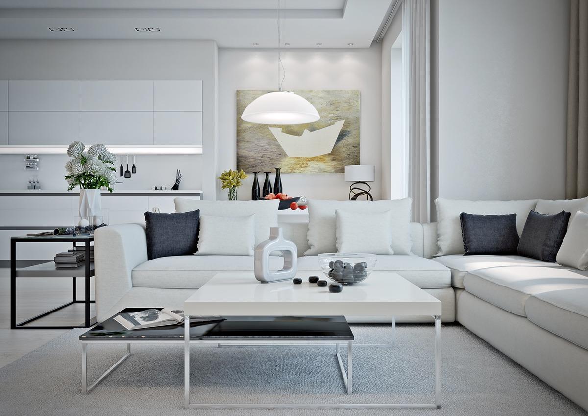 Căn hộ chung cư một phòng ngủ hiện đại và tiện nghi