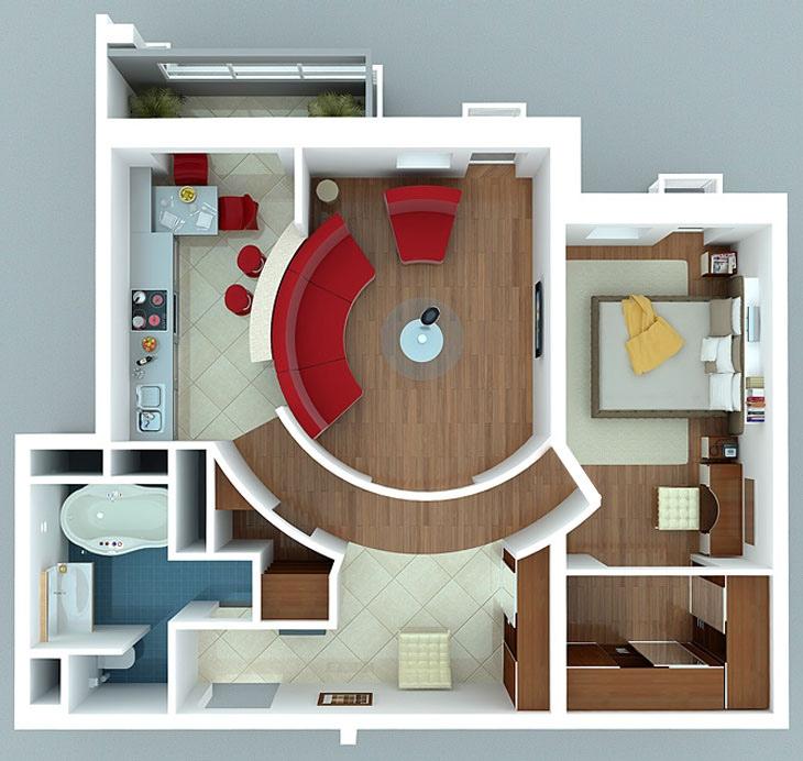 thiết kế thi công nội thất chung cư đẹp