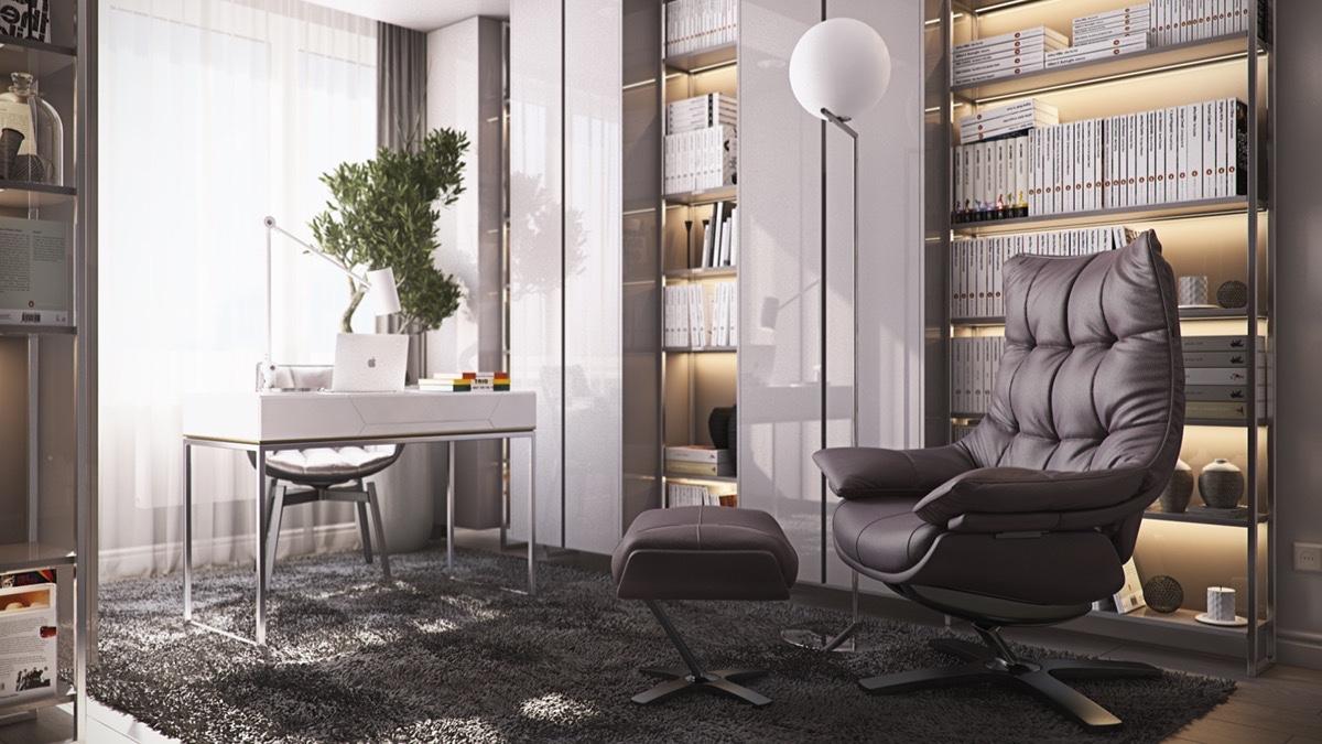 Mẫu thiết kế nội thất cao cấp cho căn hộ 3 phòng ngủ