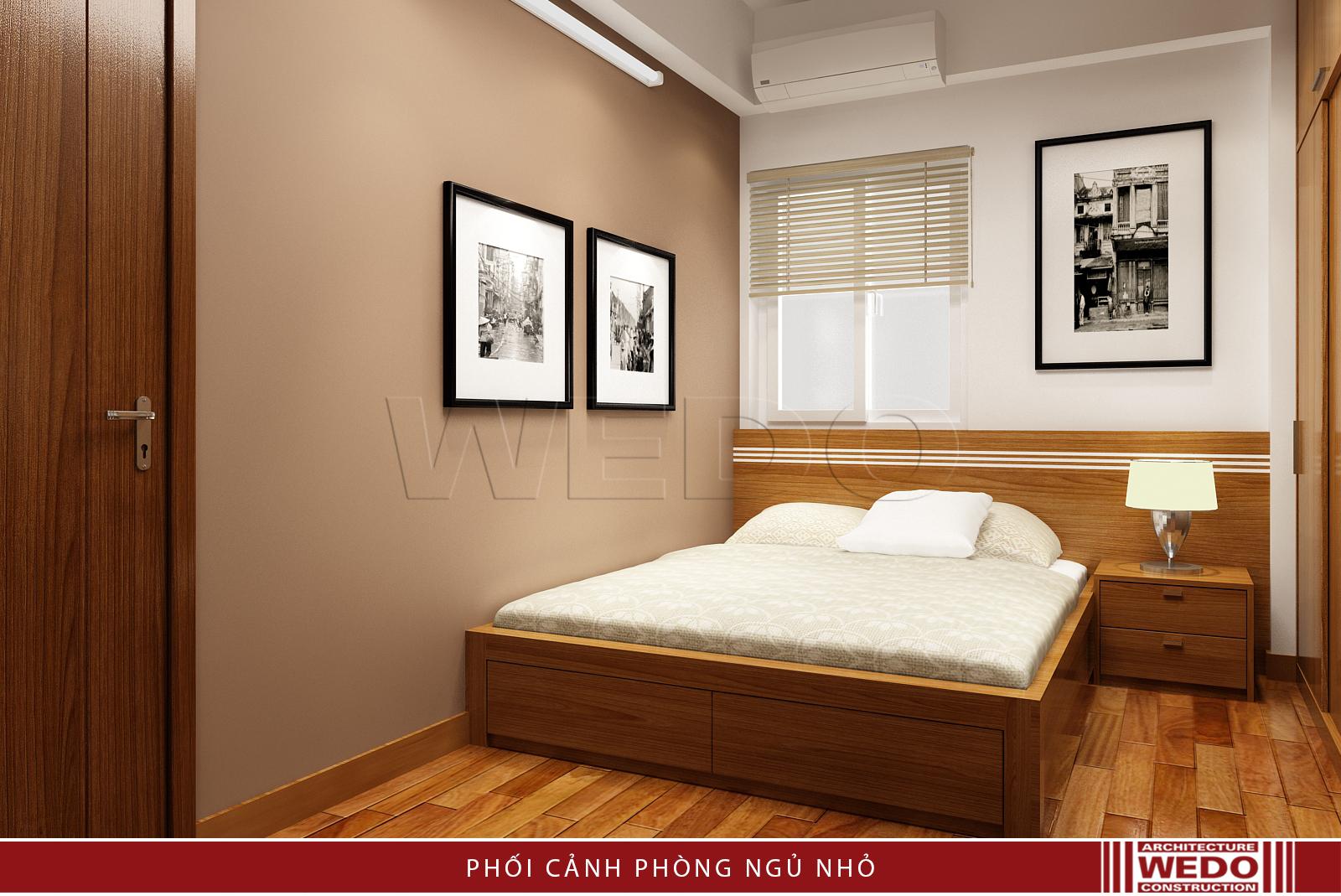 Nội thất phòng ngủ chung cư Green Park Tower