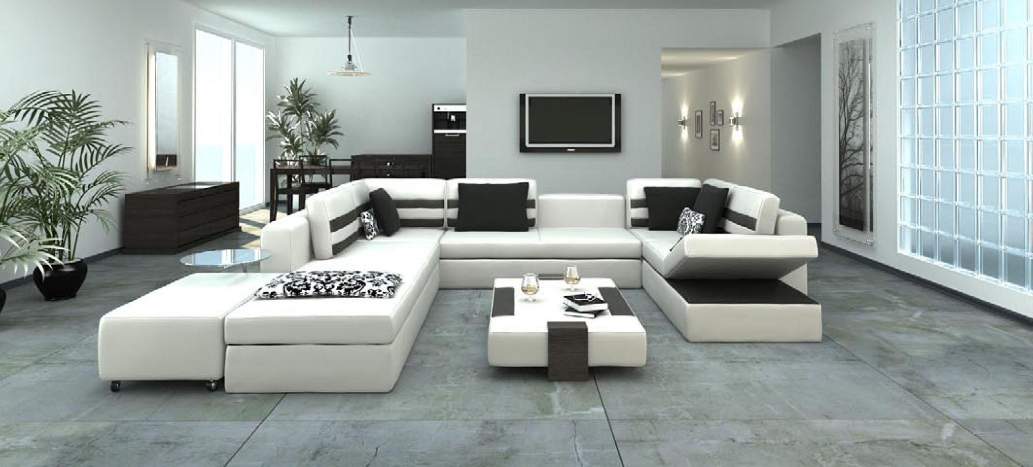 Vũ điệu của màu trắng trong thiết kế, trang trí nội thất