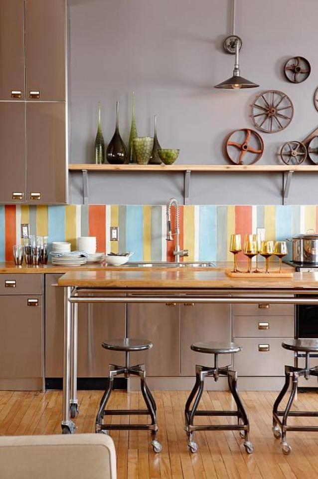 mẫu thiết kế nội thất phong cách công nghiệp